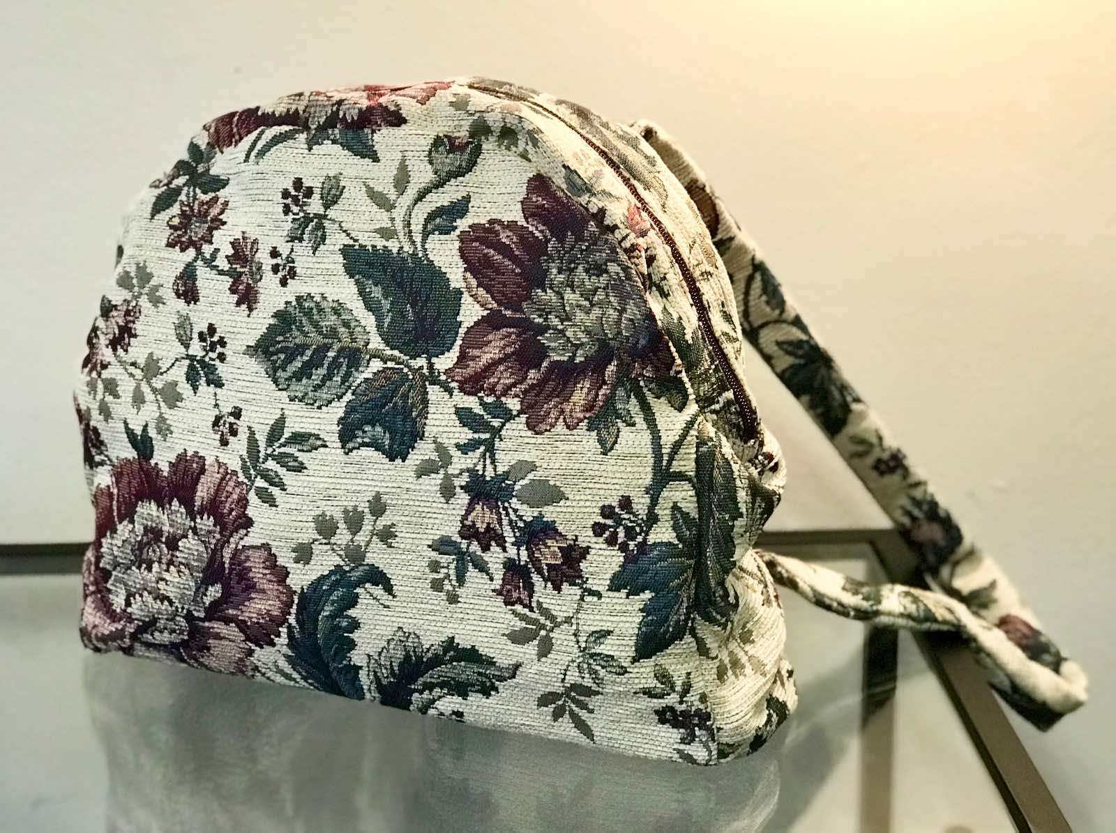 Floral τσάντα